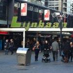 Shops at the Lijnbaan in Rotterdam