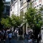 Shops in the Maastrichter Brugstraat in Maastricht