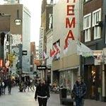 Shops at the Rechtestraat in Eindhoven