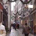 Shops in the Stokstraat in Maastricht