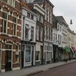 Shops in the Vughterstraat in Den Bosch