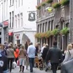 Shops at the Wolfstraat in Maastricht